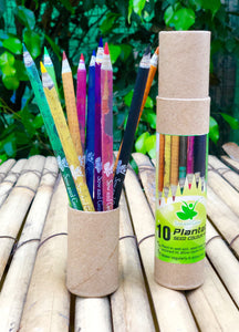 Rakhi themed Plantable Diary + 10 Plantable Colour Pencils in a Jute Bag