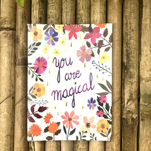 "Plantable Diary ""You Are Magical"": Set of 5 Gift Pack"