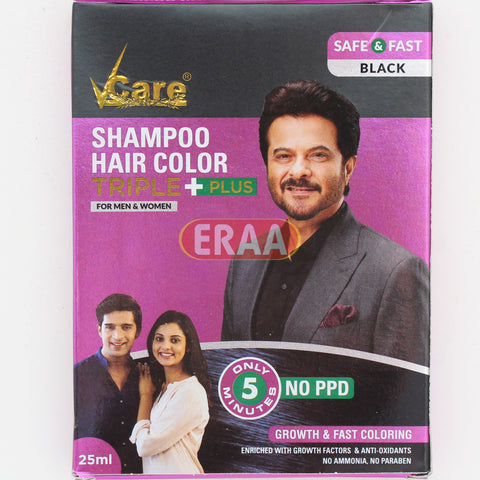 Vcare Shampoo Hair Colour Triple Plus