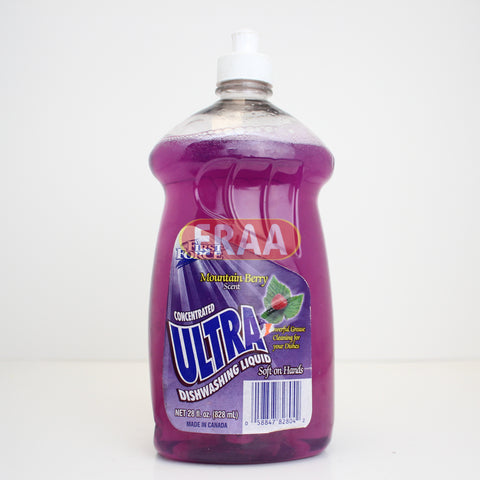 First Force Ultra Mountain Berry 828ml
