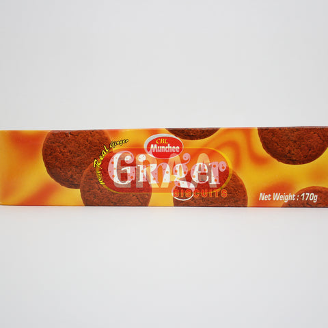 Munchee Ginger Biscuits 170g