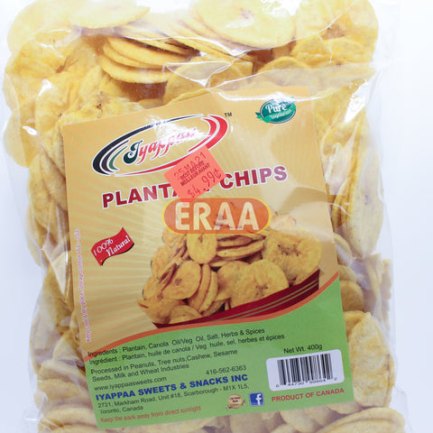 Iyappaa Plantain Chips 400g