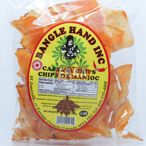 Bangle Hand Cassava Chips 100g