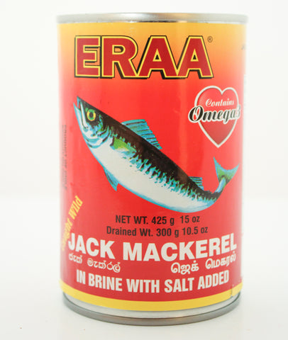 Eraa Jack Mackerel 425g (Tin Fish)