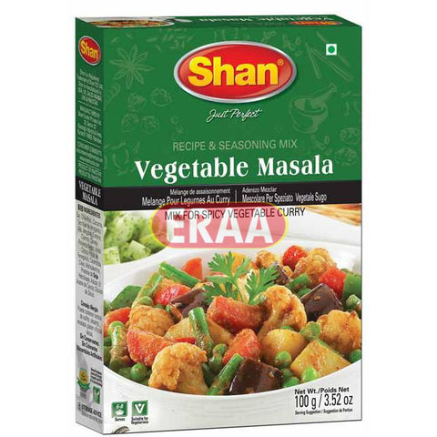 Shan Vegetable Masala Premium 100g