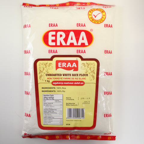 Eraa Unroasted White Rice Flour
