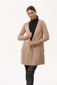 BL0605 – LONGLINE ETE CARDIGAN WITH POCKETS