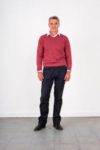 V-Neck Jumper Fine Gage KW6723