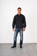 Load image into Gallery viewer, Half Zip Collar Fine gage Jumper KW6725 Ansett knitwear