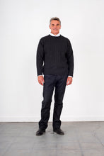 Load image into Gallery viewer, Cable Round Neck Jumper KW8602 Ansett knitwear