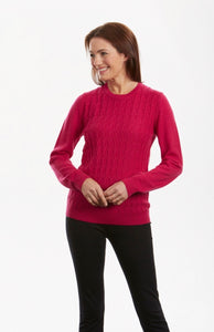 NH0902 – DIAMOND CABLE CREW PULLOVER