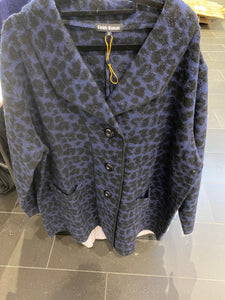 Leopard fields woman long jacket