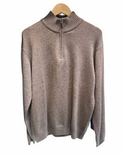 Load image into Gallery viewer, 1/4 zip collar jumper Cashmere/Merino wool D2725