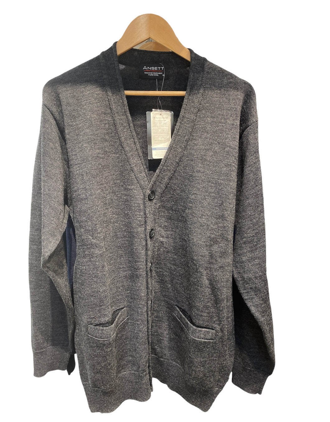 Machine washable Cardigan with Lined Pockets KW3034