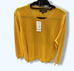 Fields women (oversized) round neck cashmere/merino jumper