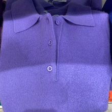 Load image into Gallery viewer, 4 BUTTON POLO PULLOVER NH1915/ NH0917/NH1406