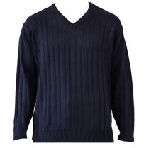 Load image into Gallery viewer, V neck jumper Tradewinds by Ansett S9493