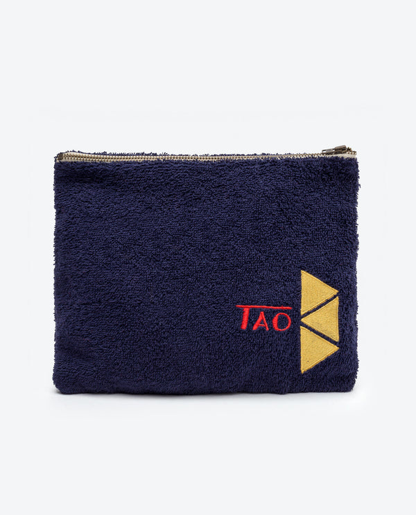 The Animals Observatory Pouch Navy Blue