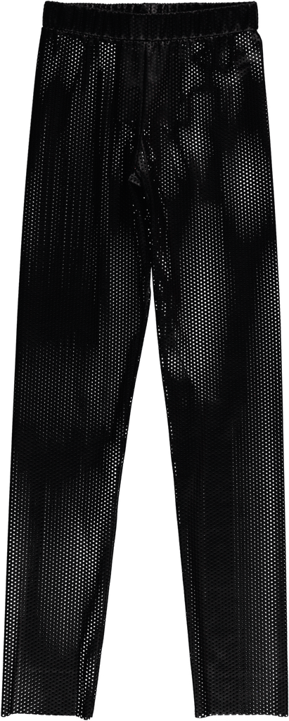 Caroline Bosmans Mineral Pant, Perforated Black