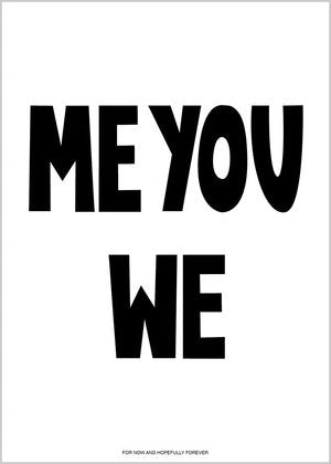 Me You We Poster