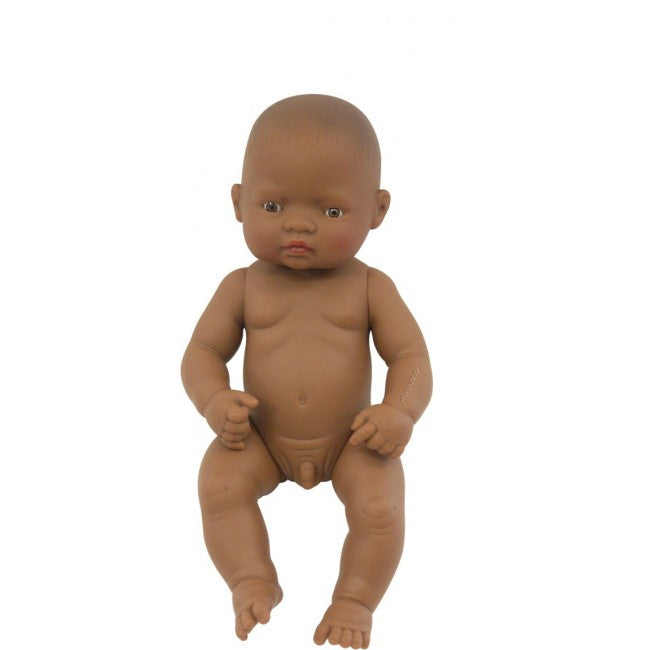 Miniland 32cm Anatomically Correct Doll Latin American Boy.