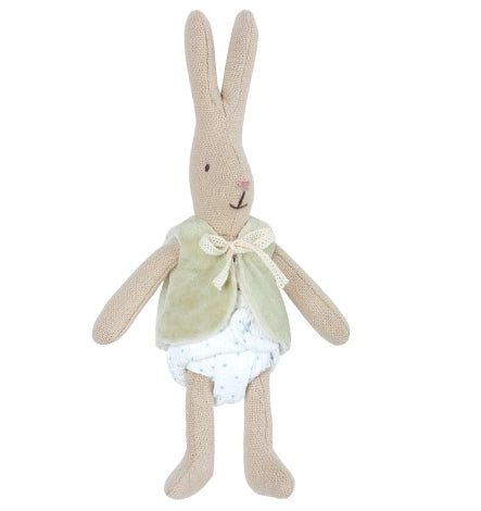 Maileg Bunny Micro With Mint Vest