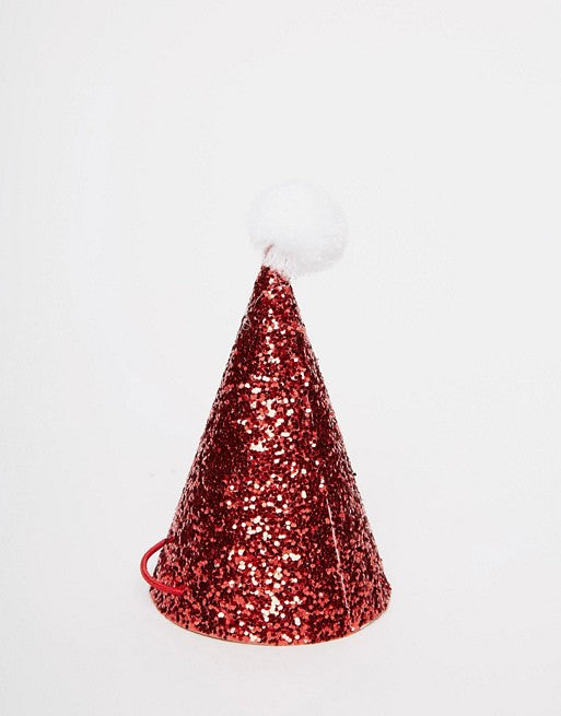 Santa Mini Hats (Pack of 8)