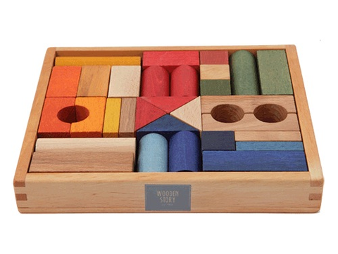 Rainbow Blocks 30pc