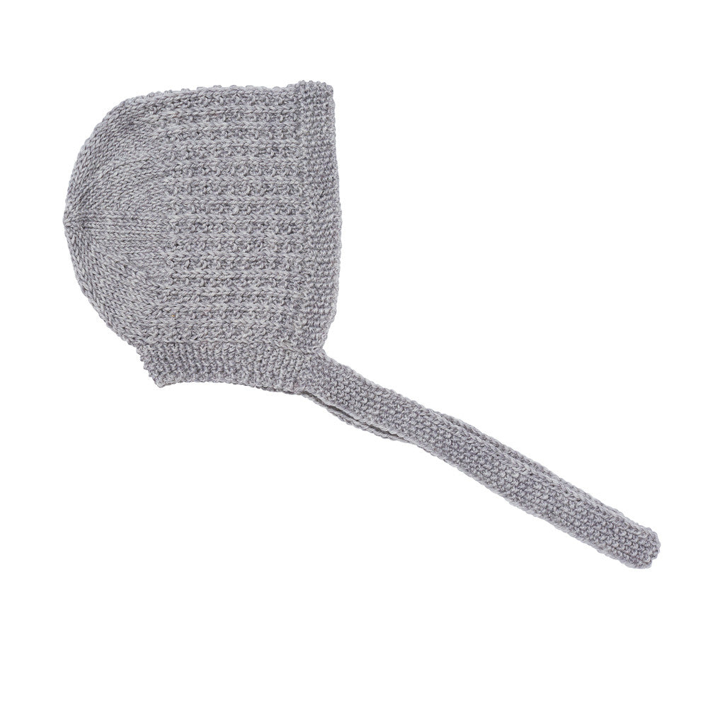 Lace Bonnet, Grey