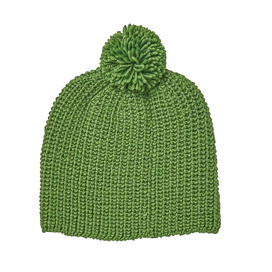 Acorn Campside Beanie Forest Green