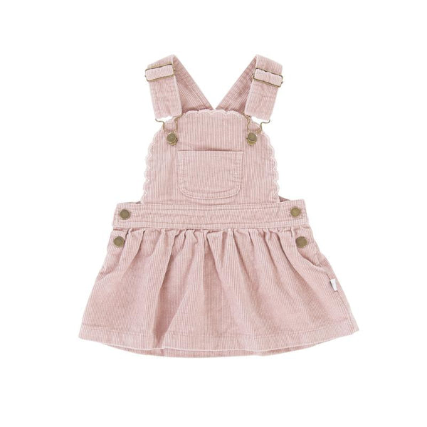 Peggy Cleo Pinafore Soft Pink Cord