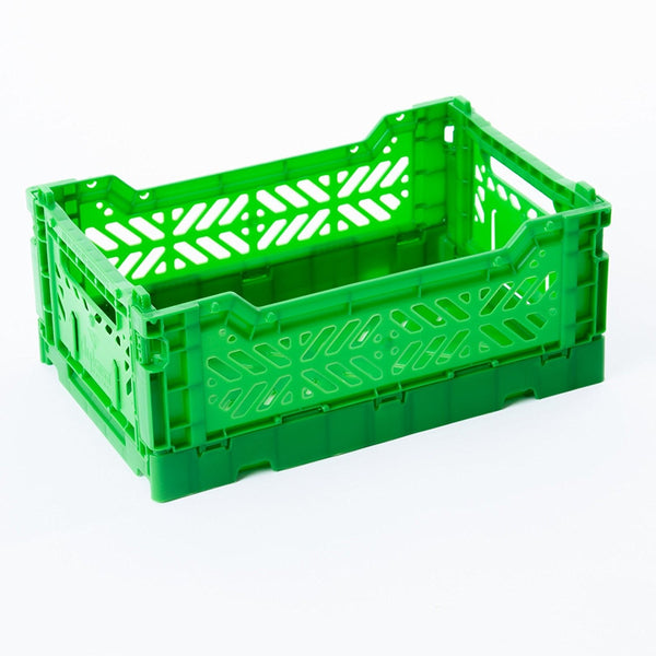 Aykasa Folding Crate Mini Green
