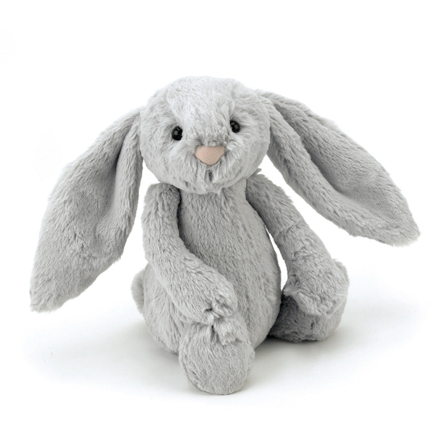 Jellycat Medium Bashful Bunny Silver