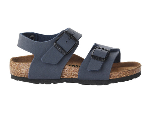 New York Kids Birko-Flor Nubuck Navy