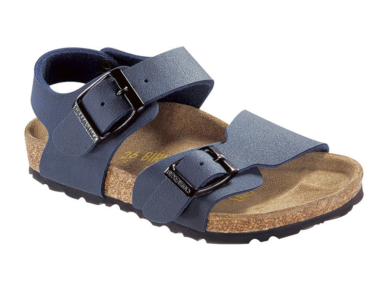 New York Kids Birko-Flor-Nubuck Navy