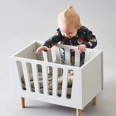 Dolls Bed Grey