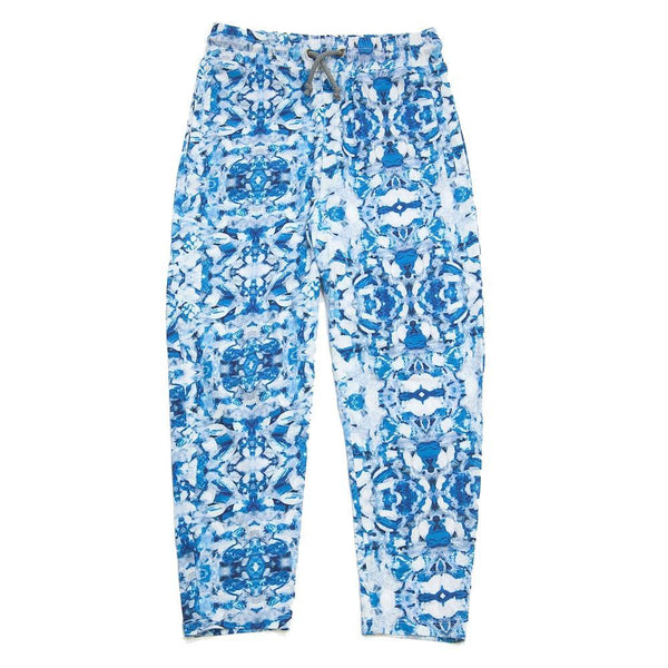 Agatha Cub Drop Crotch Legging Taffy Blue