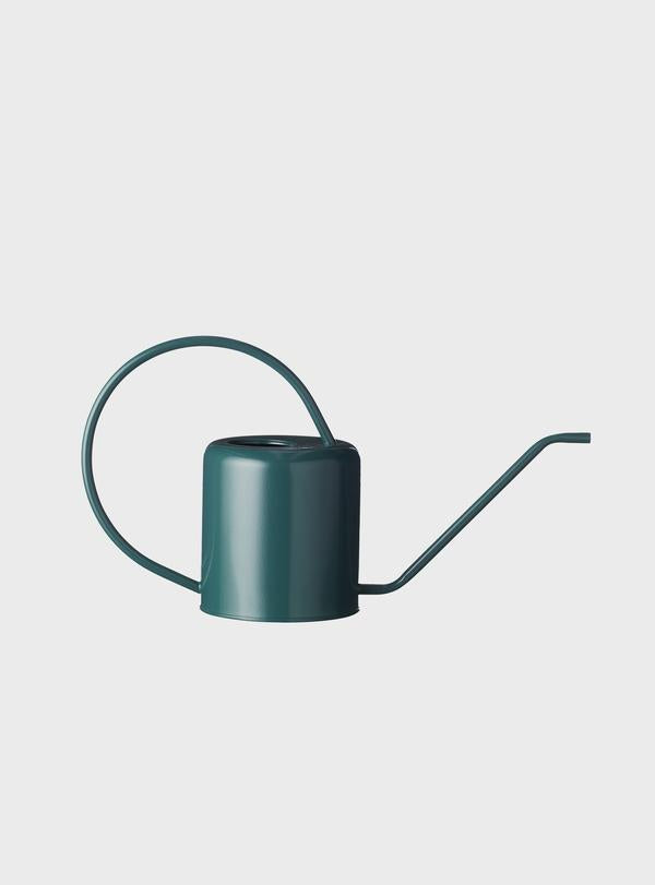 Evergreen Collective Flora Watering Can Teal Green