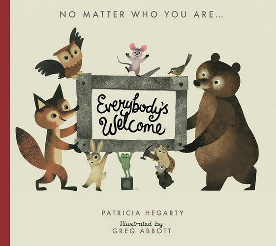 Everybody's Welcome Boardbook - Patricia Hegarty