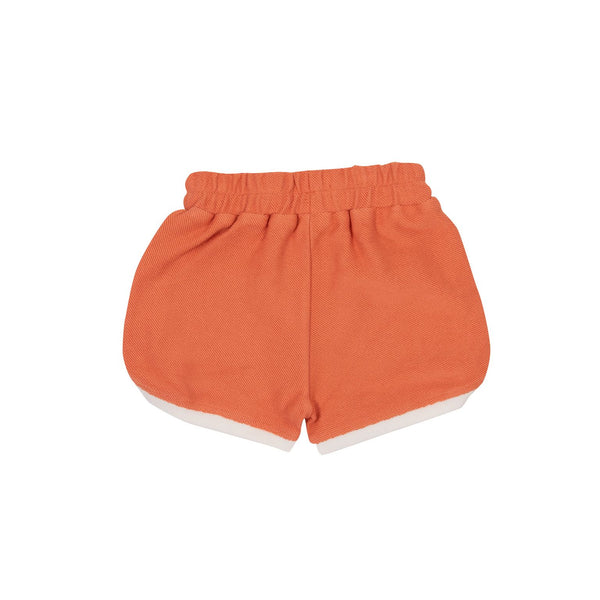 Sadie Terry Towelling Shorts, Flamingo