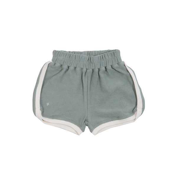 Goldie + Ace Sadie Terry Towelling Shorts Sea