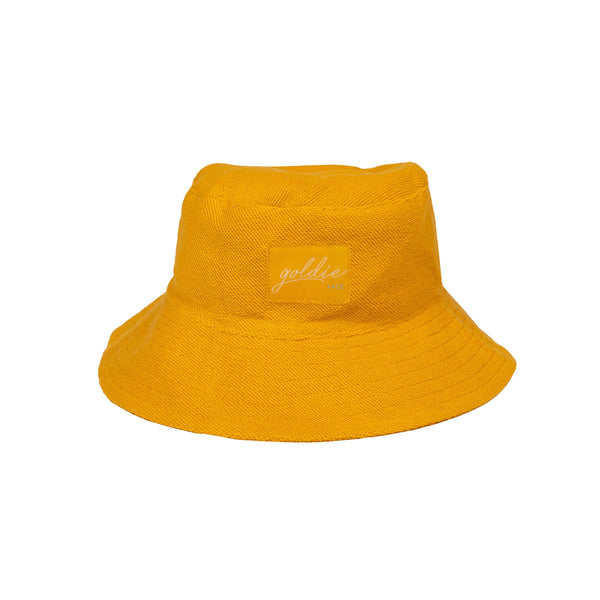 Goldie + Ace Terry Towelling Hat Marigold