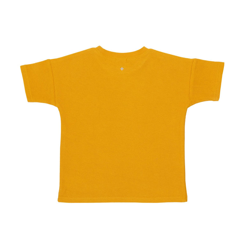 Terry Towelling Tee, Marigold