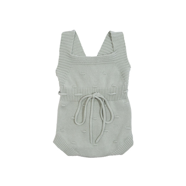 Goldie + Ace Willow Knit Romper Surf