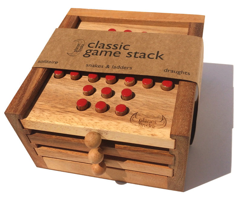 Planet Finska Classic Game Stack 3 Drawers
