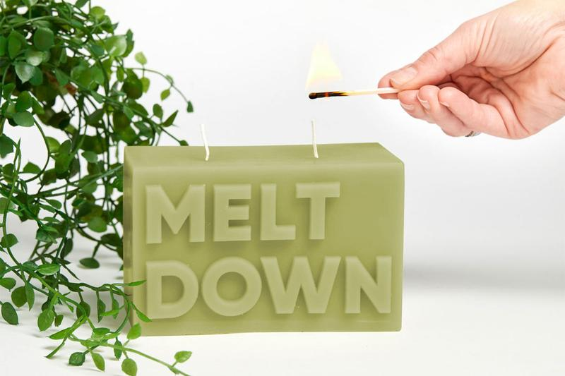 Journey Of Something Melt Down Candle