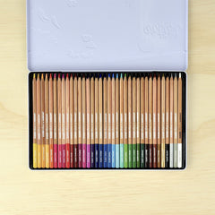 Artist Coloured Pencils 36pc Tin
