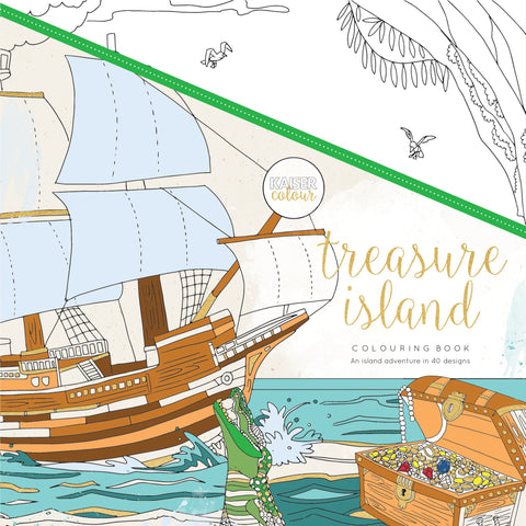 Treasure Island Colouring Book