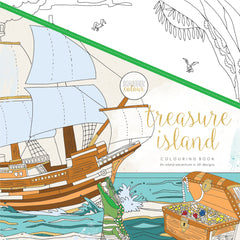 Kaisercraft Treasure Island Colouring Book