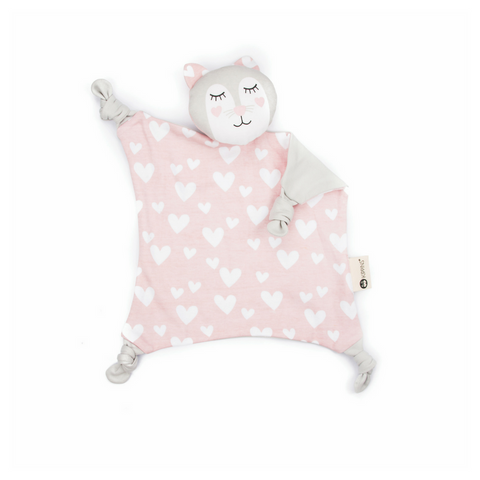 Organic Cotton Cuddle Blankie, Kitty